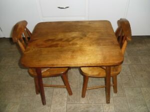 Child 3 piece Table & Chair set  $30.