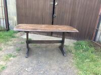 Ercol oak table and chairs