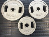 90 KG Olympic Cast Iron Plates