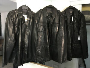 Calvin Klein leather jacket, New with tags, never worn