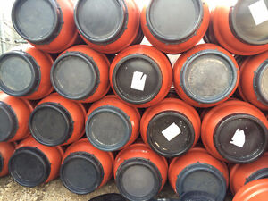 LOOK >> 90 x Food Grade Barrels in Jumbo Terra Cotta, $40 each Edmonton Edmonton Area image 2