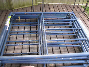 MetalTech SaferStack Scaffold - 20' full set - perfect condition