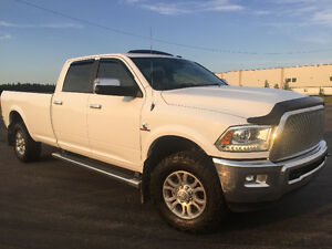 2015 Ram 3500 Laramie with a 6.7L Cummins Diesel $59000