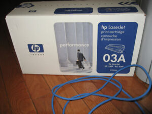 HP 03A (C3903A) Black LaserJet Toner Cartridge , sealed