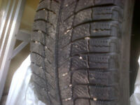 Performance Michelin X-ice Winter tires (4)