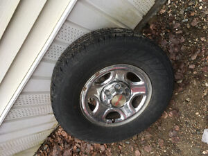 16 inch Chev rims and tires