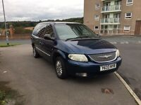 Chrysler grand voyager limited,auto, long mot, 7 seater mpv spares or repair