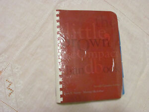 The Little Brown Compact Handbook, 2nd Canadian edition