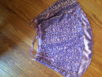 American Girl Isabelle Purple skirt and Top for Girls Size 10/12