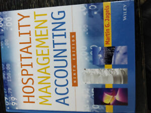 Hospitality Management Accounting book