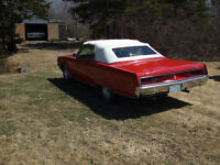 1968 Chrysler Convertible For Sale