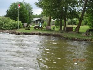 Lake front  Cabin Rentals
