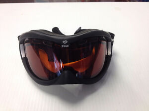 (sold)ZEAL OPTICS Ski Snowboard Goggles-Black