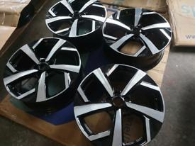 """19"""" nissan qashqai juke wheels fit vauxhall vivaro traffic 2014 -"""