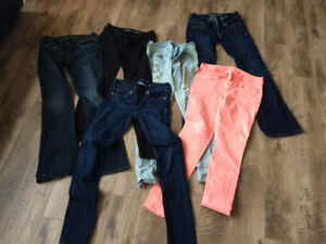 American eagle jeans, ae and h&m shorts!!!
