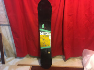 Rome notch powder snowboard 162 $300