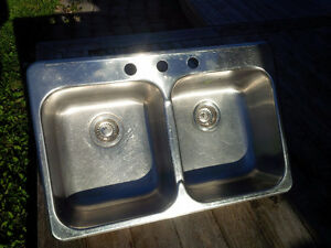 Stainless Steel Double Kitchen Sink - Kindred