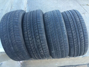 4 PNEUS / 4 ALL SEASON TIRES  235/55/17 GENERAL ALTIMAX
