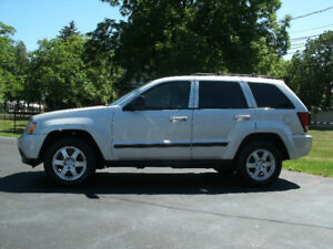 2008 Jeep Grand Cheroke Laredo: Auto,4X4,Only 140Kms!