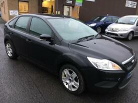 5909 Ford Focus 1.6TDCi 110 ( DPF ) Style Black 5 Door 80863mls MOT Dec 17