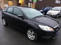 5909 Ford Focus 1.6TDCi 110 ( DPF ) Style Black 5 Door 80863mls MOT Dec 17