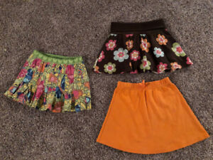 Girls size 5T brand name summer skirts
