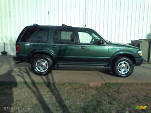 1999 Ford Explorer Limited - Forest Green with Tan Interior