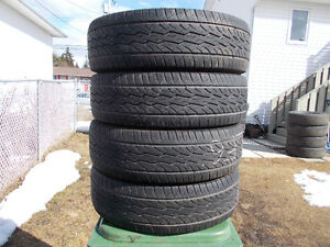 p215/70/16 inch all season tires / GOOD TREAD / WICKED DEAL