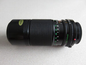Canon 70-150mm 1:4.5 FD Zoom Lens