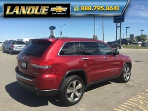 "2015 Jeep Grand Cherokee Limited  PANO SUNROOF, DUEL DVD, 20"" WH Windsor Region Ontario image 8"