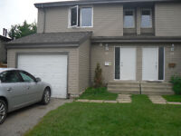 3 bedroom end unit townhouse with a single garage in St. Albert