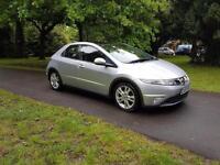 2009 59 Honda Civic 2.2i-CTDi ES panoramic roof long mot 1 former keeper £3395