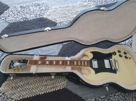 Gibson SG Standard Limited Edition in Cream