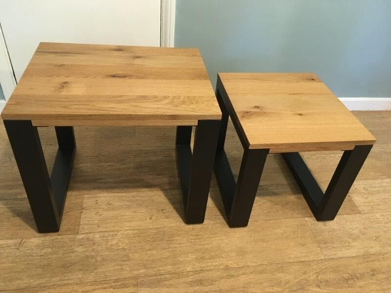 Harveys coffee tables choice image table furniture design ideas nest harveys coffee tables solid oak and steel contemporary great watchthetrailerfo
