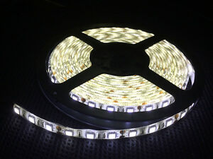 12V-5M-5050-SMD-Cool-White-300-Leds-IP65-Waterproof-Flexible-LED-Strips-Xmas