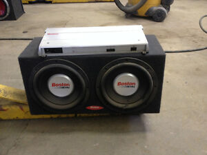 Boston GT 24 AMP and Speakers Edmonton Edmonton Area image 1