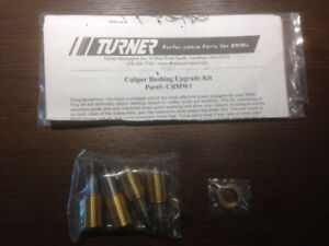 TURNER MOTORSPORT BMW CALIPER BUSHING UPGRADE KIT