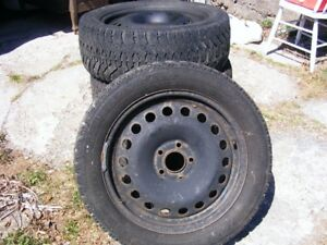 4 rims/ 2 tires for Pontiac G6 2008