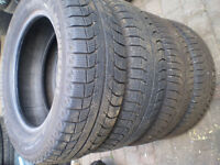 4 Michelin X- ICE  P215/65/R16 Winter tires for sale