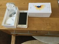 Apple IPhone 6S 64Gb memory in white/gold