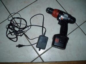 Black & Decker Cordless 12v Drill Driver / Hand Drill Manual