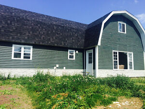 3 bedroom house 15 min from long harbour