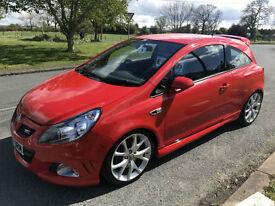 VAUXHALL CORSA VXR TURBO 35000 MILES FSH IN RED STUNNING CAR