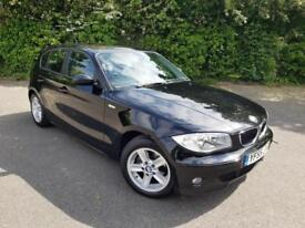 BMW 118 2.0 SE BLACK 5 DOOR HATCHBACK PETROL MANUAL 2005