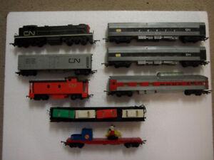 Vinatge Model Ho Train Set