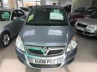2008 Vauxhall/Opel Zafira 2.2i 16v Direct auto 2007.5MY Design - 8 Service Stamp