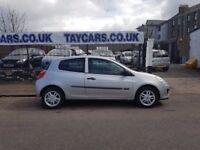 TAYCARS DUNDEE 2006 RENAULT CLIO 1.2 NEW SHAPE ONLY £1495