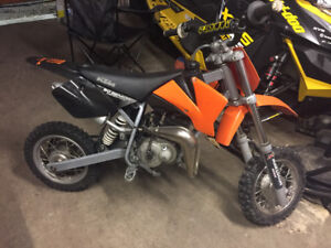 KTM adventure senior 50cc