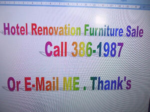 HOTEL FURNITURE FOR SALE