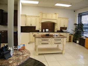 Kitchen Cabinets (All-Wood) Granite Counter Top Under Same Roof